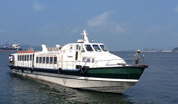 tàu cao tốc ra đảo