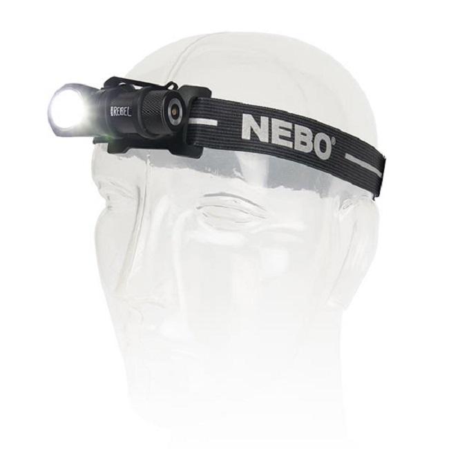Đèn pin đội đầu siêu sáng NEBO Rebel 240 LUMENS