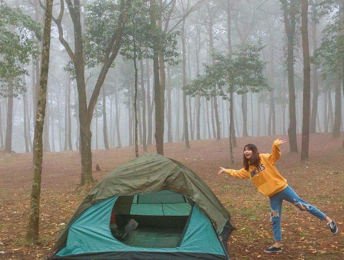 Cắm trại tại Ba Vì