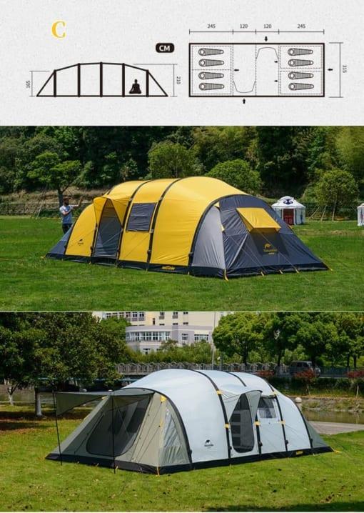 Lều cắm trại không tự bung