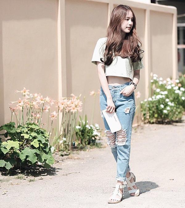 jeans rách