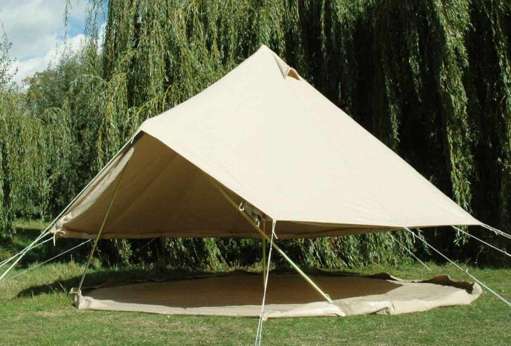 lều cắm trại đơn giản
