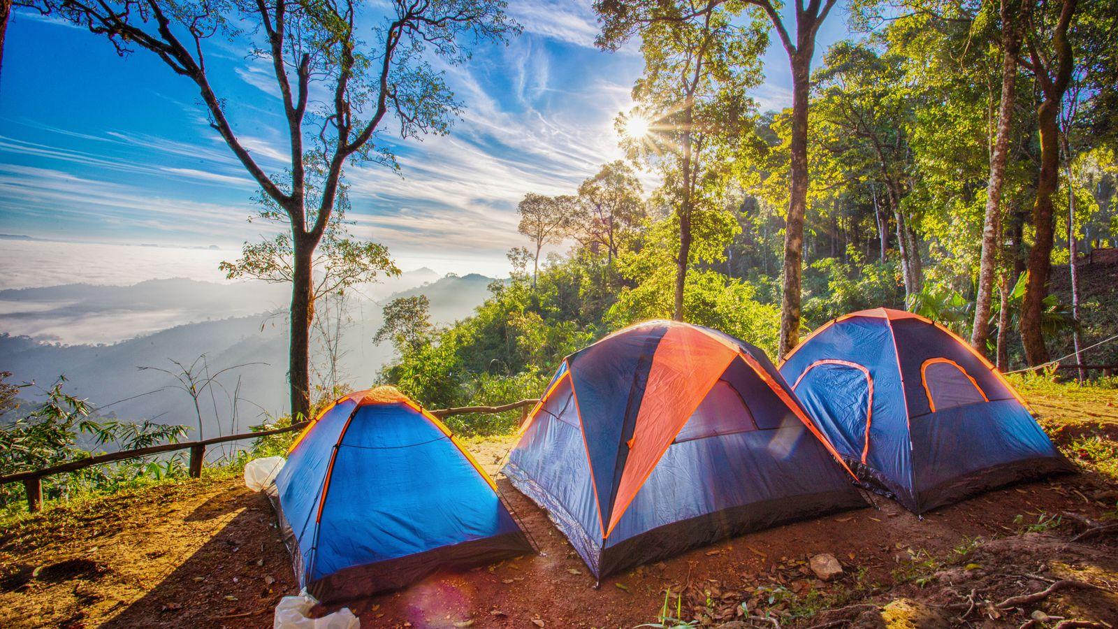 lều cắm trại đẹp