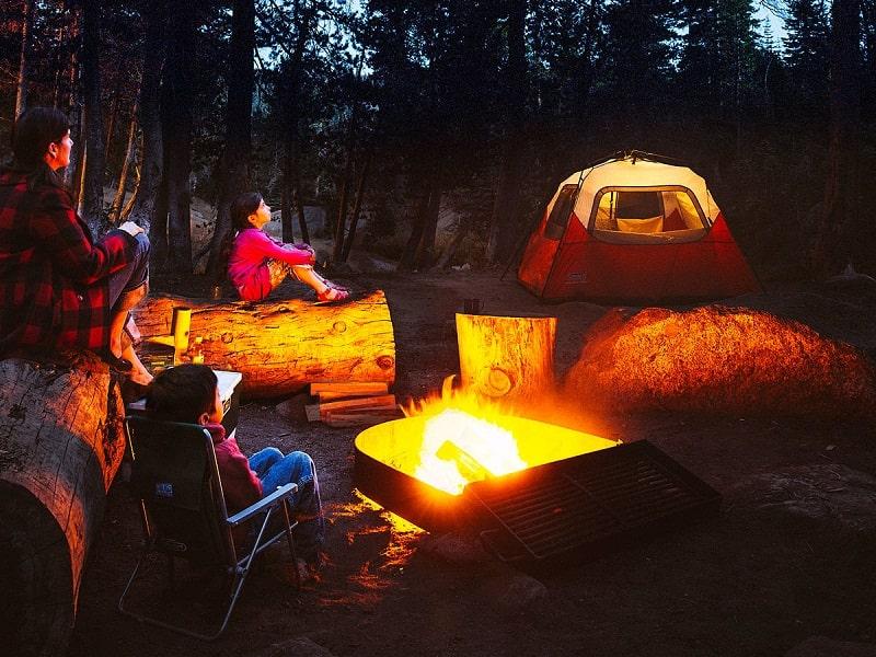 lều cắm trại cho gia đình