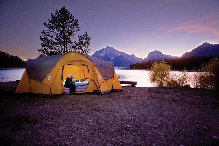 kinh nghiệm cắm trại qua đêm