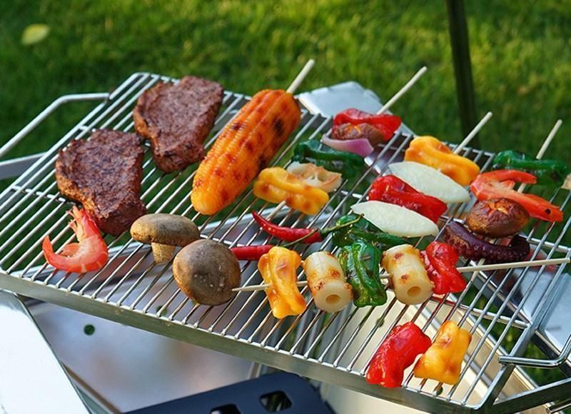 đi cắm trại nên ăn gì với những món nướng